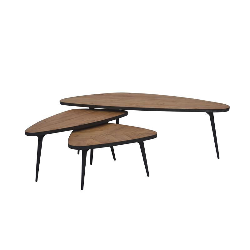 Solid Wooden Table Set Unique Design SG0197