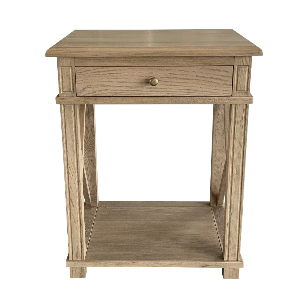 French Provincial style nightstand bedside table HL542-1