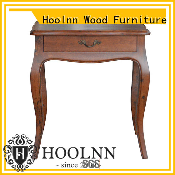 HOOLNN solid wood bedroom furniture supplier for hotel