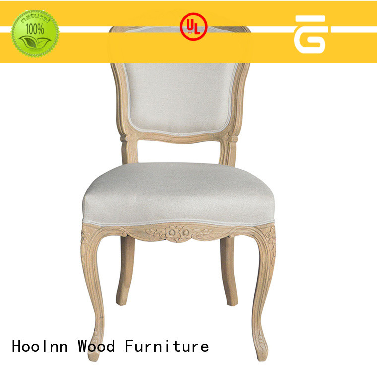 HOOLNN leather dining chair factory in China for wooden furniture industry